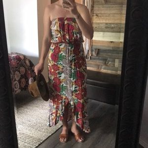 Xhilaration Floral High Low Dress